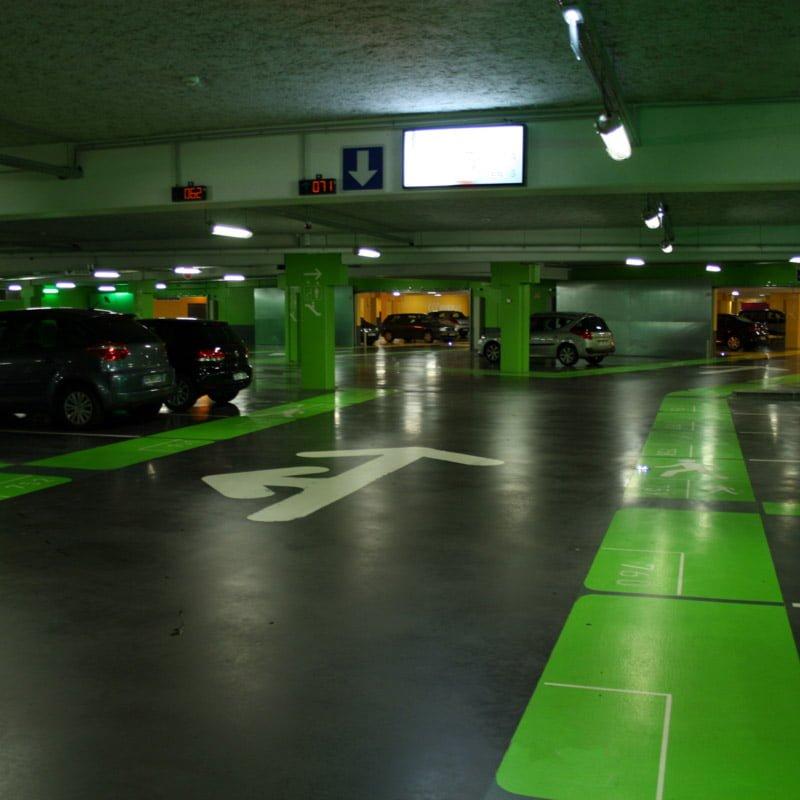 کفپوش پارکینگ و رمپ